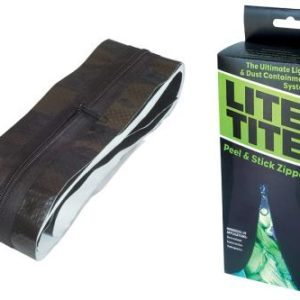 Lite Tite Heavy Duty Peel & Stick Zipper (10/Cs)