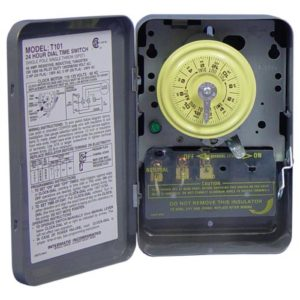 Intermatic T104 Commercial Grade Timer 240/277 Volt