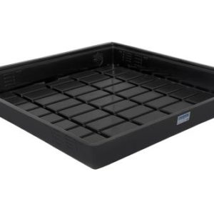Duralastics Tray 4 ft x 4 ft ID - Black