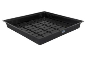 Duralastics Tray 4 ft x 8 ft ID - Black