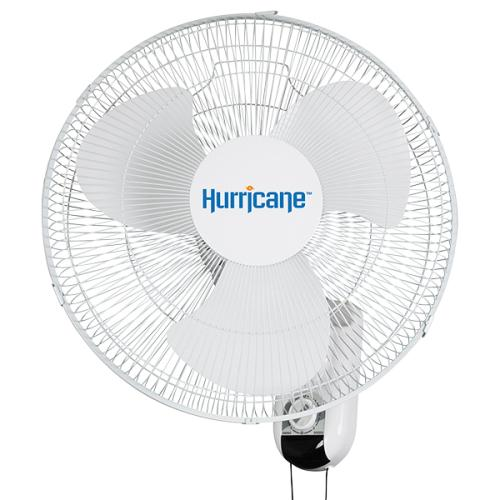 Hurricane Classic Oscillating Wall Mount Fan 16 in (48/Plt)