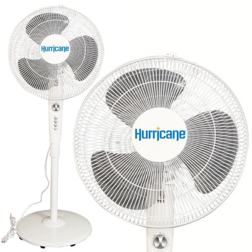 Hurricane Supreme Oscillating Stand Fan 16 in (42/Plt)