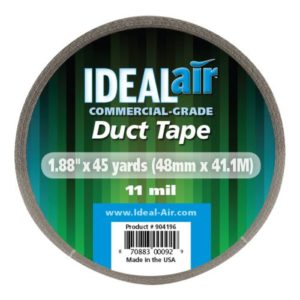 Ideal-Air Silver Duct Tape 2 x 45 yd (24/Cs)