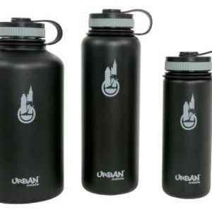 Urban Oasis Vacuum Insulated Stainless Steel Wide Mouth Drinking Container 40 oz (12/Cs)