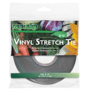 Luster Leaf Rapiclip Vinyl Stretch Tie 0.5 in (12/Cs)
