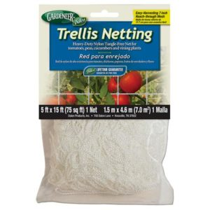 Gardeneer Trellis Netting 5 ft x 700 ft w/ 7 in Holes (5/Cs)